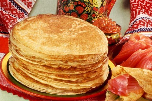 У славянских народов приготовление блинов напрямую связано с Масленицей.