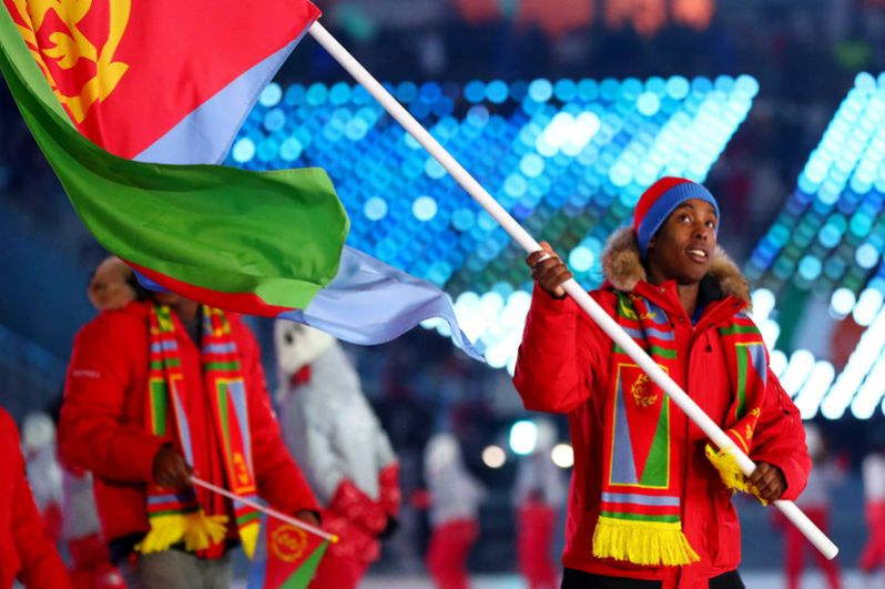 Эритрея. Также впервые в истории примет участие в зимней Олимпиаде и будет представлена одним спортсменом в горнолыжном спорте.