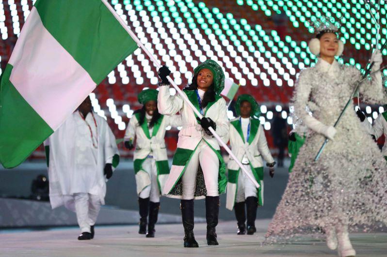 Нигерия. До 2018 года нигерийские спортсмены никогда не принимали участия в зимних Олимпийских играх. Страна будет представлена как минимум 3 спортсменами в 2 дисциплинах: бобслее и скелетоне.
