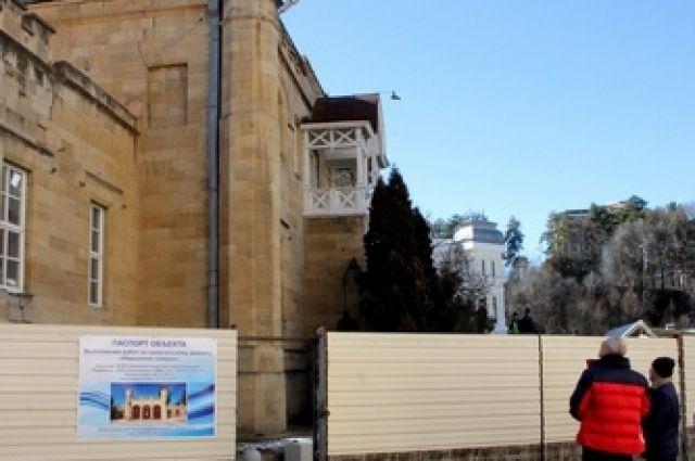 Ремонтные работы вНарзанной галерее Кисловодска закончатся осенью