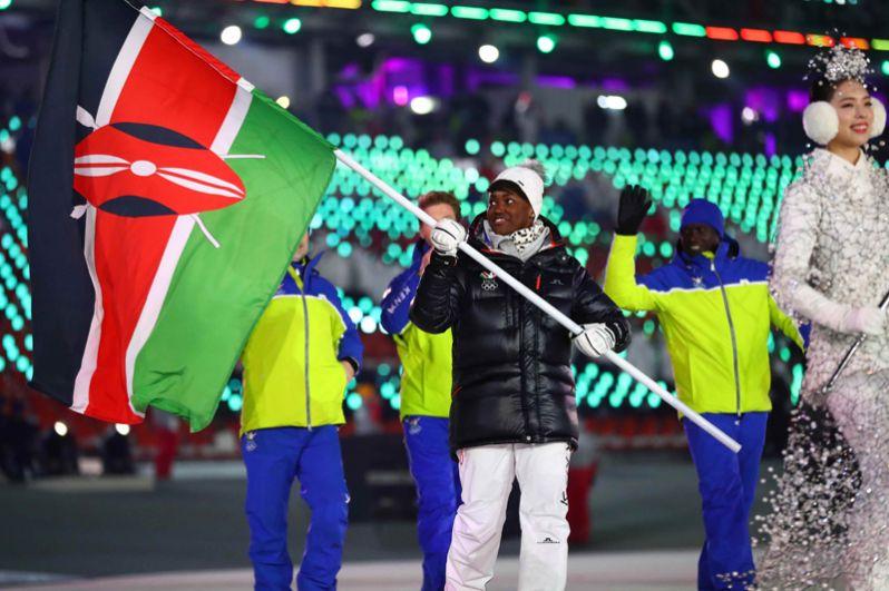 Кения. Спортсмены из Кении дебютировали на Олимпийских играх 1998 года в Нагано и участвовали только в Играх 2002 и 2006 годов. В этом году страна будет представлена одной спортсменкой в горнолыжном спорте.