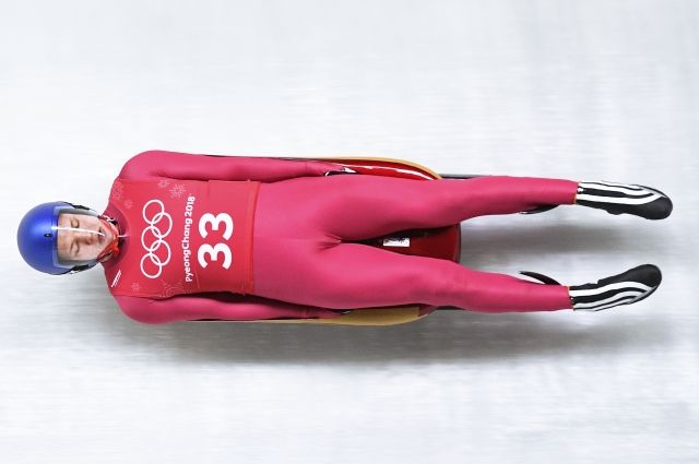 Саночник Репилов вышел на 3-е место после 2-ой попытки наОИ