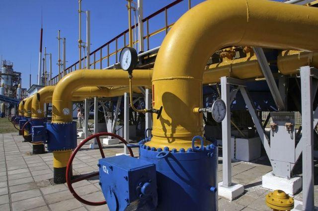 Украина временно прекратила закупку газа из-за границы