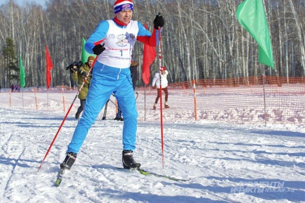 Он боролся за победу в vip-забеге на символичную дистанцию - 2018 метров.