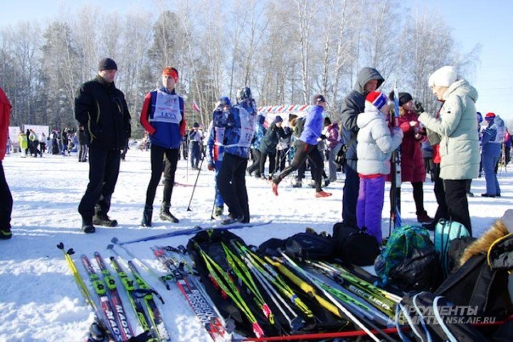 Соревнования проходили на лыжных базах в Академгородке.