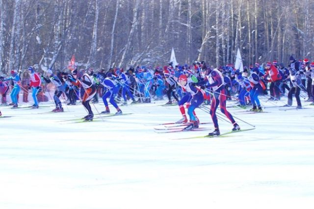 «Лыжня России» проходит уже в 36-ой раз.
