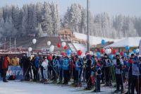 Около 1000 лыжников участвовали в соревнованиях
