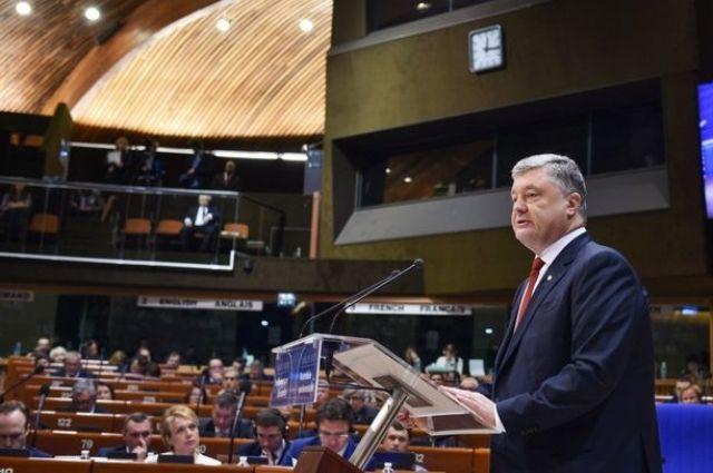 Порошенко: Ждем помощи Европы и США в возврате средств олигархов в страну