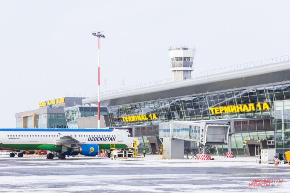 Ежедневно в казанский аэропорт прибывают десятки рейсов.