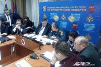 Заседание комитета по ЧС не прекращается уже несколько часов.