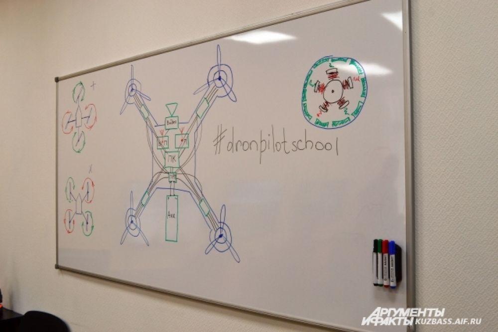 Помимо управлению дронами, кузбассовцев научат их разбирать, собирать и программировать.