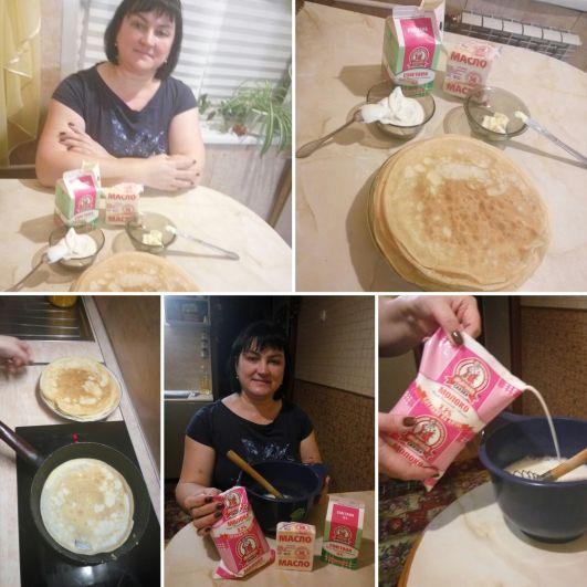 Блины по рецепту Елены Поповой. Любимая жена, супер-мама, самый ответственный сотрудник и просто замечательная женщина.