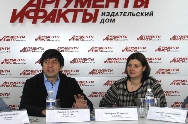 Ильдар Маматов и Екатерина Сливина.