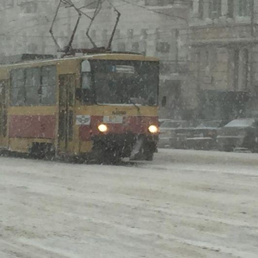 12 февраля в донскую столицу пришла настоящая студёная зима.