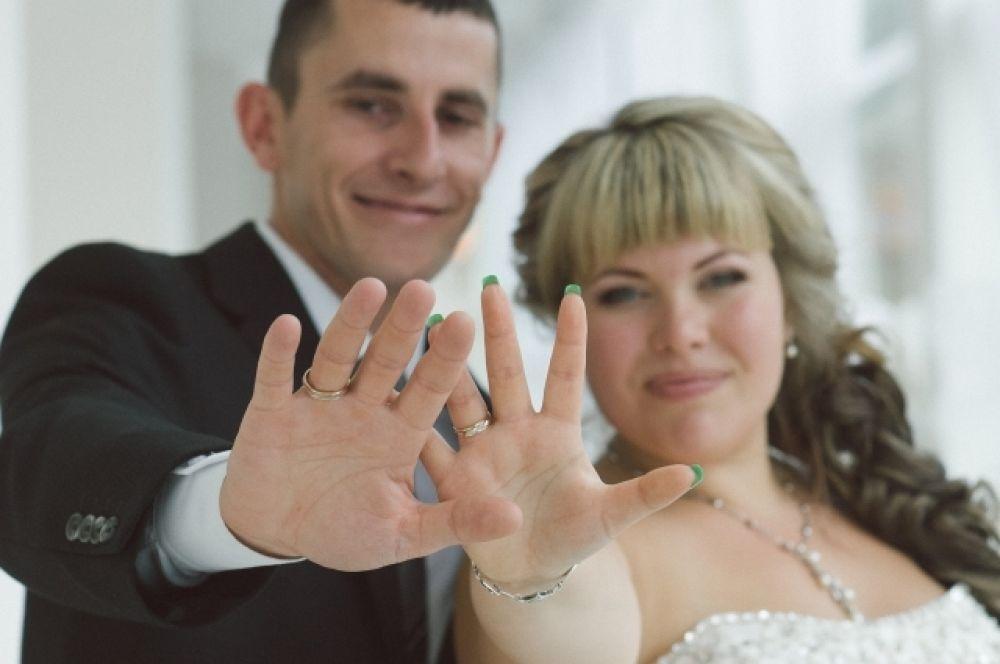Артем и Анастасия Матюшины. «Один из самых счастливых моментов нашей жизни! Наша свадьба!».