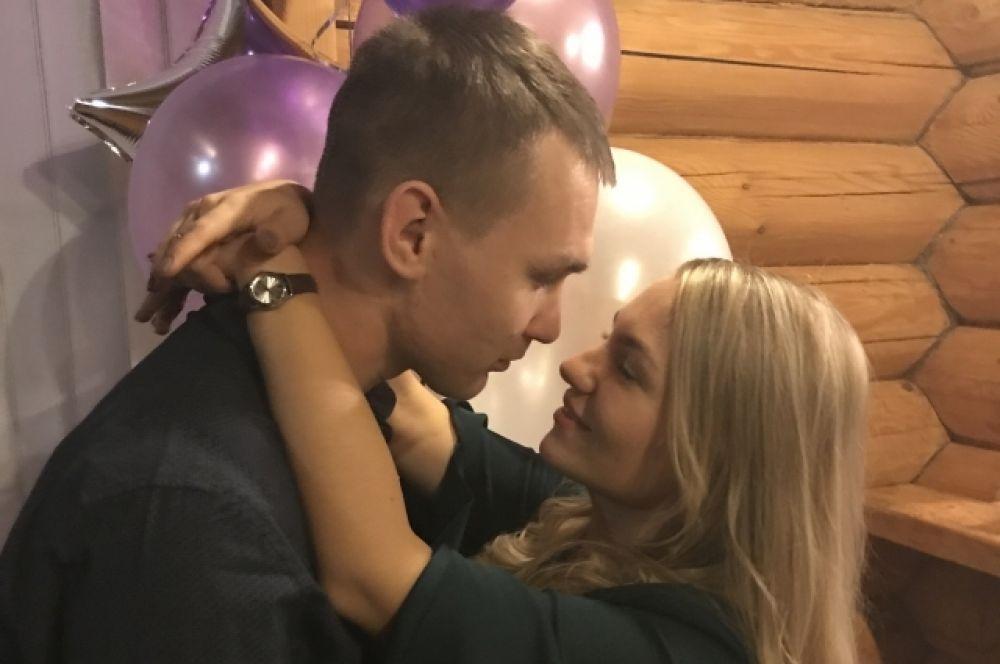 Ольга и Василий Митяговы. Глаза в глаза.