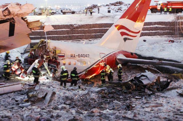 Катастрофа Ту-204 авиакомпании Red Wings 29 декабря 2012 г.