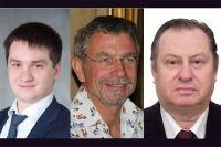Слева направо: Алексей Никитченко, Алексей Грачев, Борис Кармалеев.