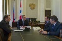Бурков провёл совещание по вопросам развития велосипедного спорта.