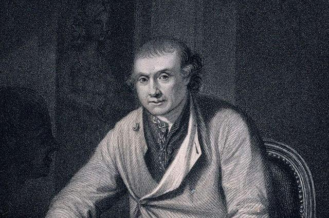 Джон Хантер, гравюра.