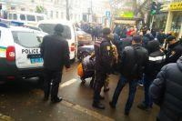 Стрельба в Одессе: полиция посреди улицы стреляла в автомобиль преступника