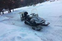 В Тюменской области задержали подозреваемого в угоне снегохода