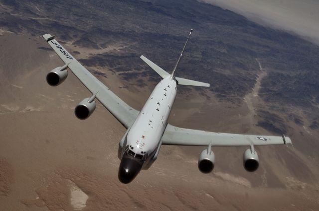 У русских границ замечен американский самолёт-разведчик
