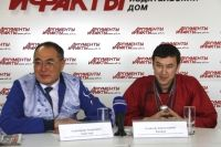 Александр Амагзаев и Алексей Хамаев.