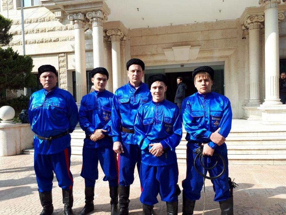 Наши земляки дали два мастер-класса на фестивале боевых искусств в Дамаске и Латакии.
