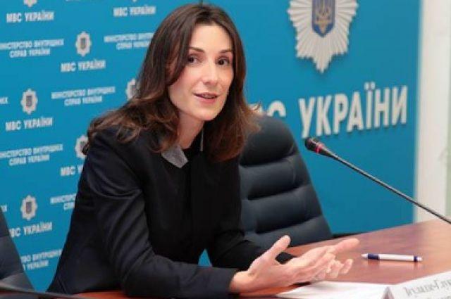 Экс-замминистра МВД Эка Згуладзе отказалась от гражданства Украины
