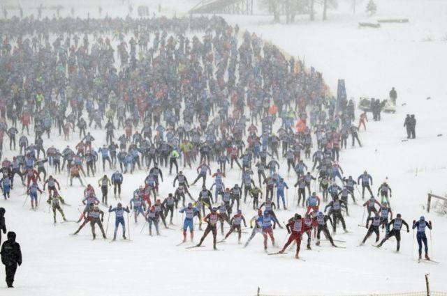 В мире нет гонок, подобных «Лыжне России».