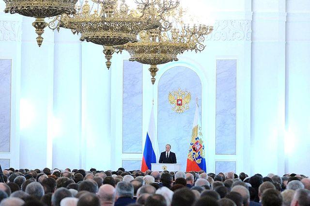 Песков рассказал о подготовке послания Федеральному собранию