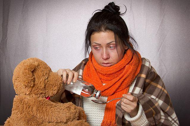 В Омской области больше 10 тысяч заболели ОРВИ.
