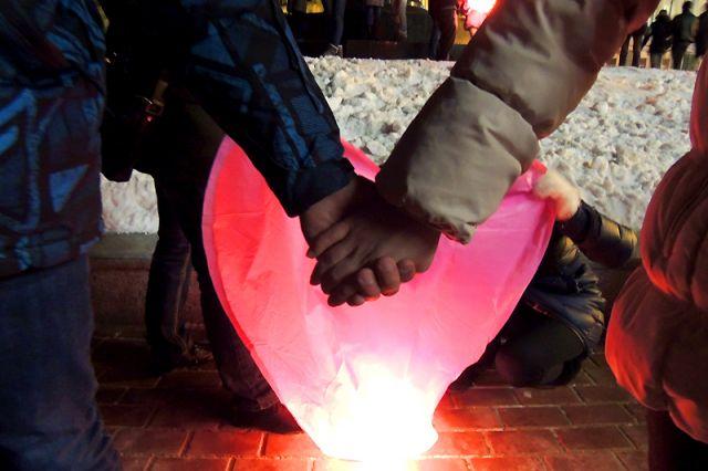 Даже аномальные морозы в Приморье уступят силе любящих сердец.