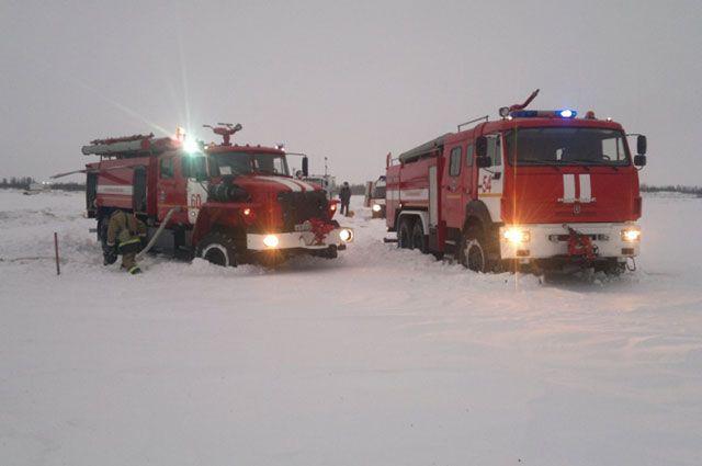 МЧС расширило зону поисков на месте авиакатастрофы Ан-148 в Подмосковье