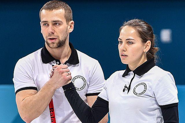 Российские спортсмены Анастасия Брызгалова и Александр Крушельницкий.