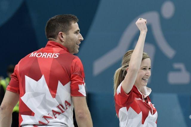 Канадские керлингисты Лаус и Моррис выиграли золото ОИ-2018 в дабл-миксте