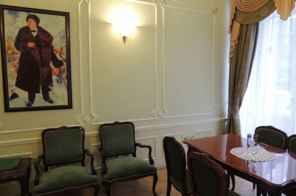 Апартаменты, где останавливался в сентябре 1909 года Фёдор Шаляпин, и сегодня хранят печать его присутствия