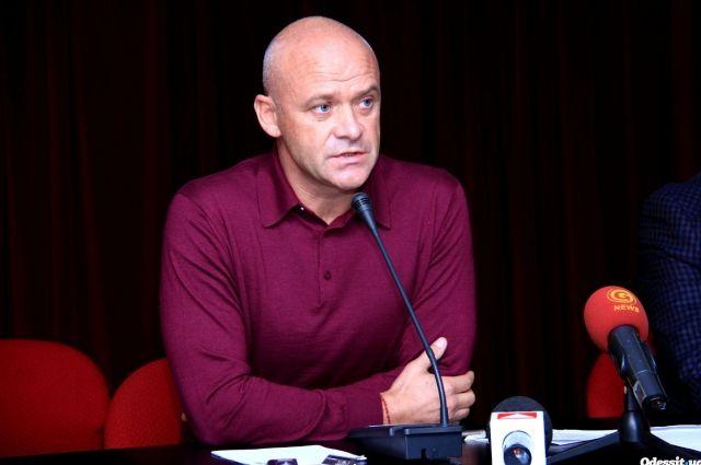 Мэру Одессы Труханову и четырем его подчиненным вынесли подозрения