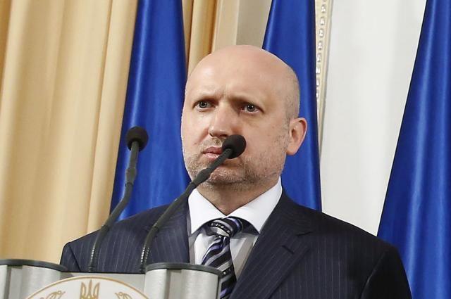 Турчинов: закон о реинтеграции Донбасса позволяет захватить ДНР и ЛНР силой