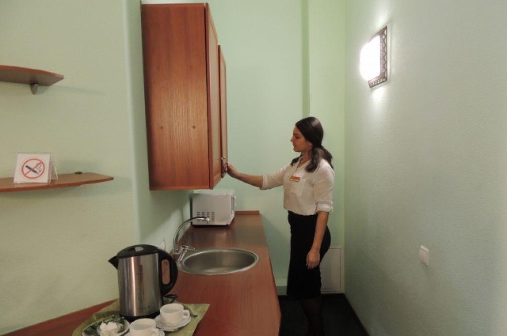 Некоторые номера оборудованы мини-кухней