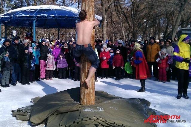 Масленичные гуляния пройдут по всему Хабаровску