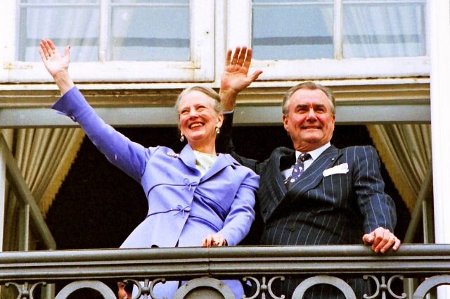 Умер 83-летний супруг королевы Дании
