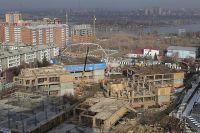 Строительство школы.