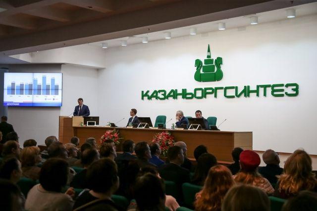 Мэр Казани начал отчетные встречи с трудовыми коллективами города.