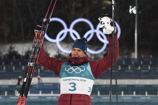 Призер спринта среди мужчин на XXIII зимних Олимпийских играх в Пхенчхане российский спортсмен Александр Большунов - 3-е место.