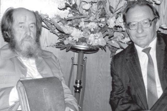 В девяностые Розенфельд познакомился с Солженицыным.