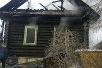 Спасти из сгоревшего дома ничего не успели.
