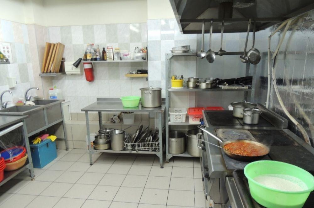 Кухня гостиничного ресторана