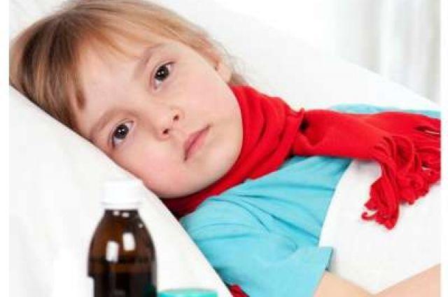 Большинство простуженных - дети